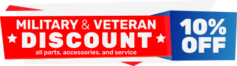Military and Veteran Discount | RV Parts | Travelcamp